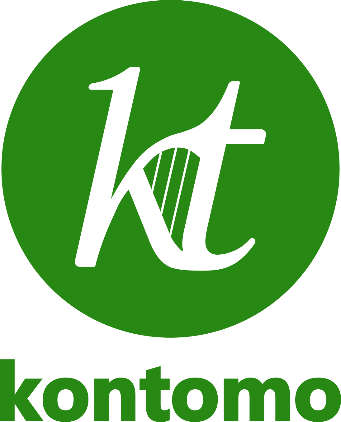 kontomo_logo_main_variant_w_wordmark_J4_lighter_green_78-190-78